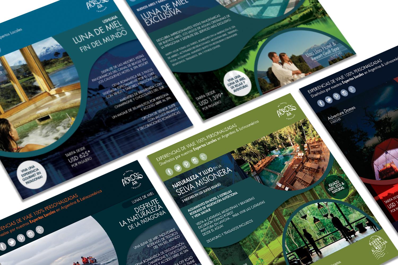 folletos de promoción