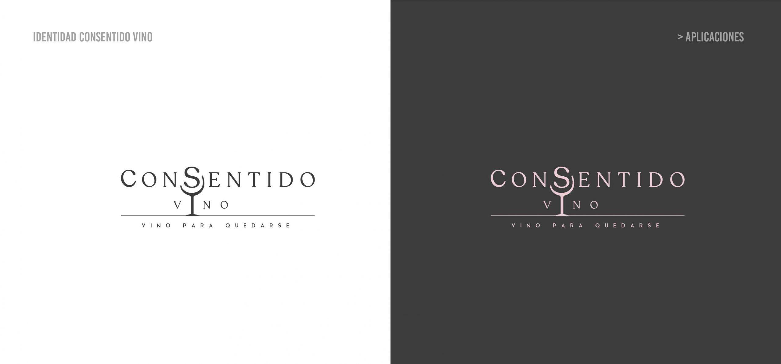 diseño de logo vinos