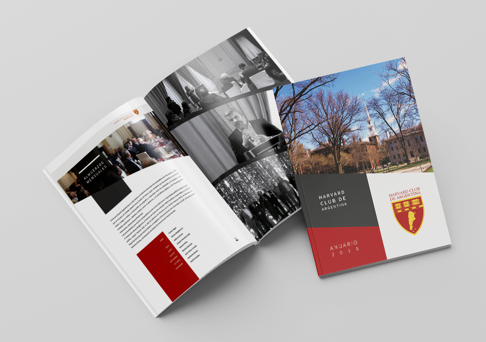 Diseño de Anuario Harvard